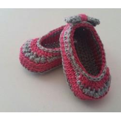 Zapatitos de Bebé en croché