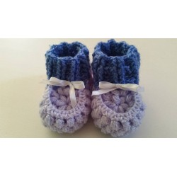 Botas de Bebé en crochet