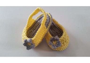 Sandalias de Bebé en crochet